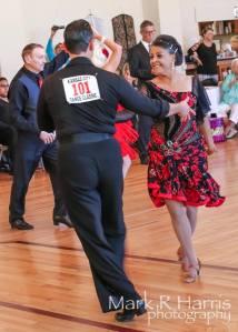 Dr. Aletha dancing