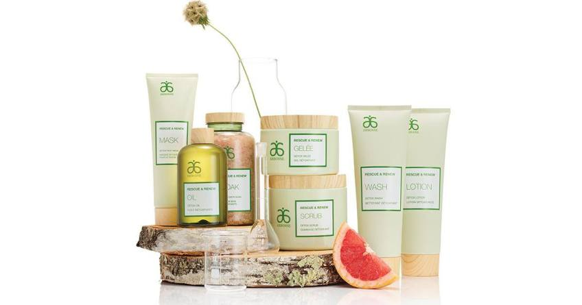 RESCUE AND RENEW PRODUCTS BY ARBONNE