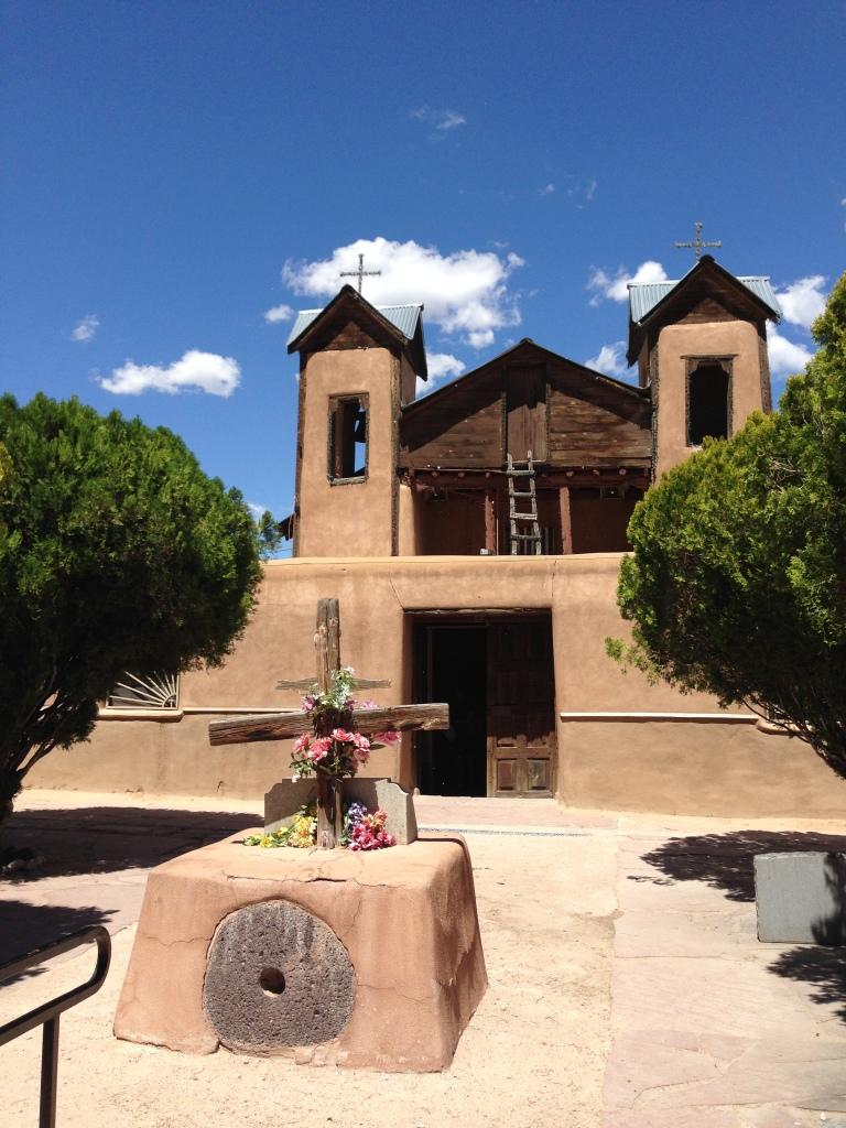 church at Chimayo,  New Mexico