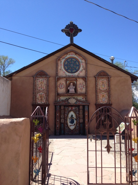 children's chapel, Chimayo, New Mexico