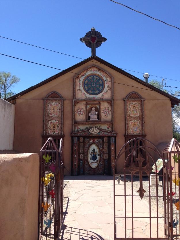 children's chapel, Chimayo, New Mexico