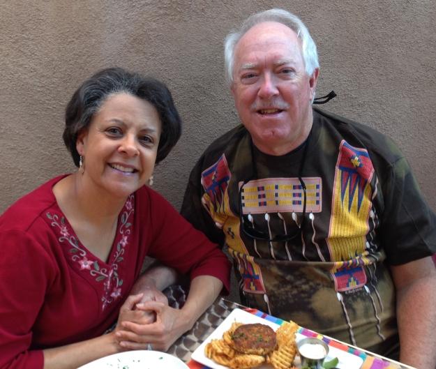 dinner in Santa Fe