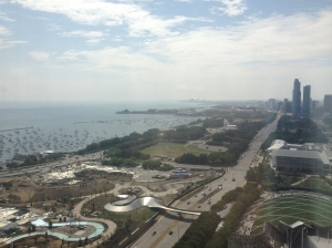 lakeview from the 25th floor