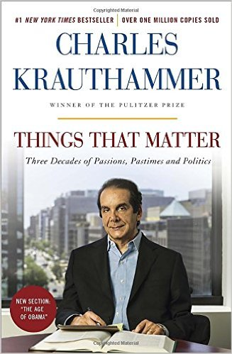 Dr. Charles Krauthammer- a physician to know