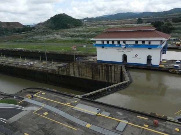 Miraflores Lockes-Panama Canal