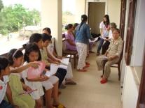 Vietnamese children and women