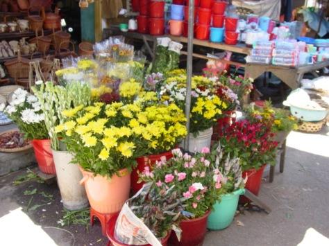 flowers for sale in DaNang, VietNam