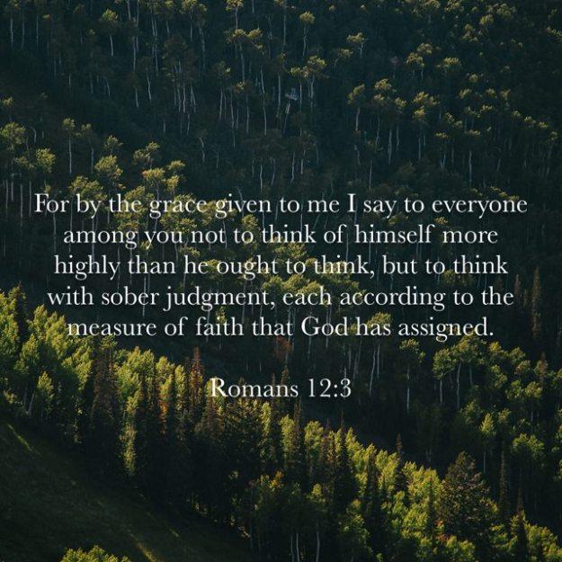 Romans 12:3