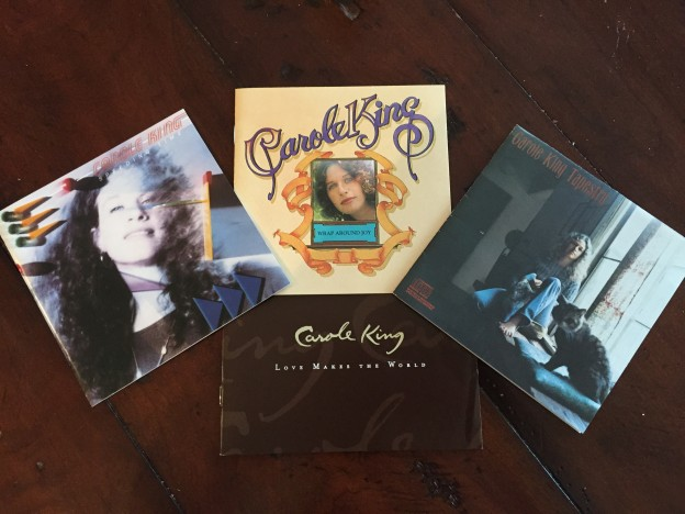 album covers from music by Carole King