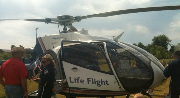 Helicopters transport of emergency patients can make the difference between life and death.