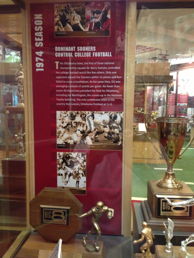 1974 championship trophy