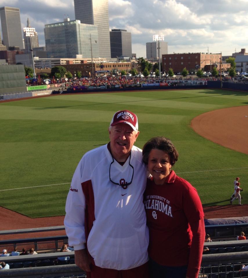 Oklahoma University baseball game