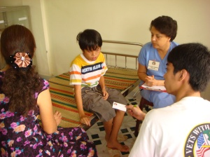 Vietnam clinic setting