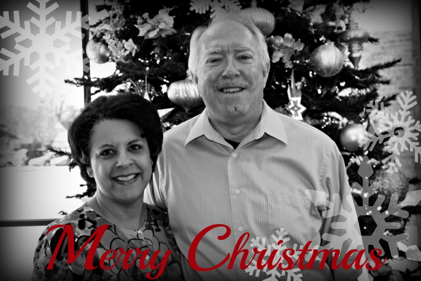 Merry Christmas from Dr. Aletha and Raymond