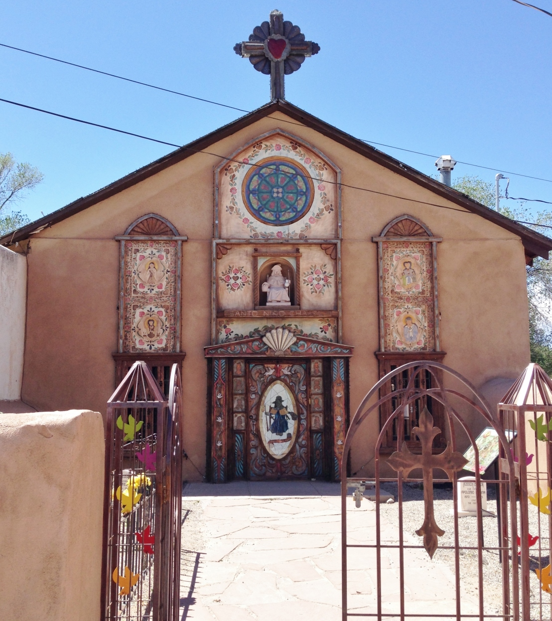 children's chapel in New Mexico