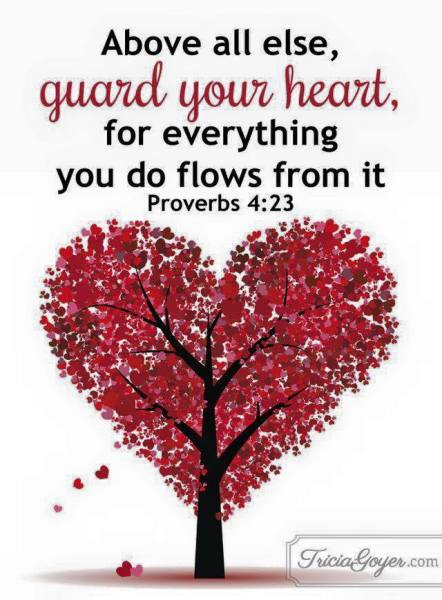 PROVERBS 4:23- GUARD YOUR HEART