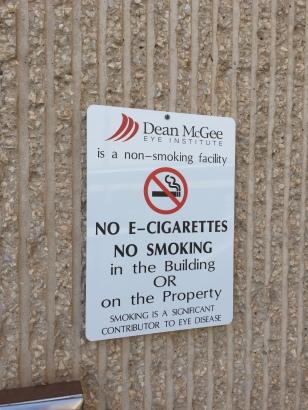 Be smoke free.