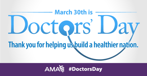 March 30 is Doctors' Day