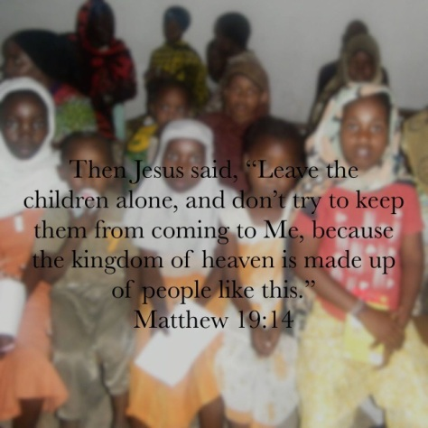 Jesus said, the kingdom of heaven is made up of people like this. Matthew 19:14