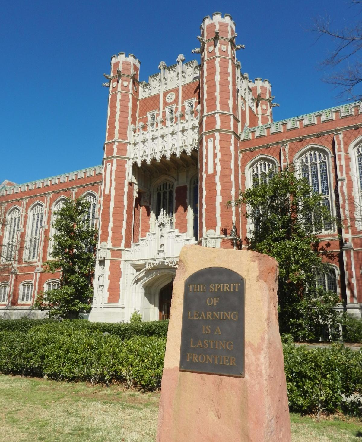 University of Oklahoma campus library