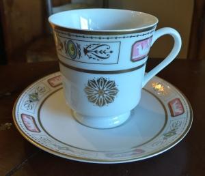 White House China teacup