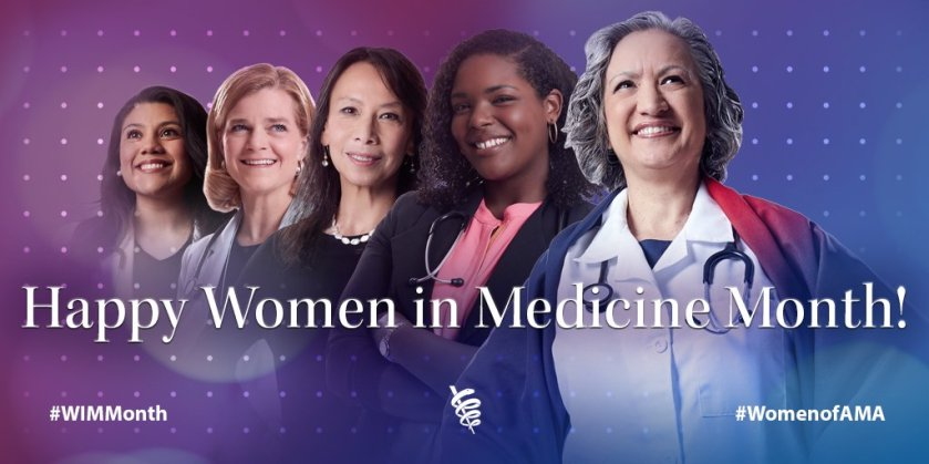 Happy Women In Medicine Month- 5 women physicians