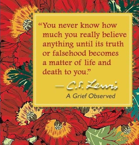 quote from A Grief Observed