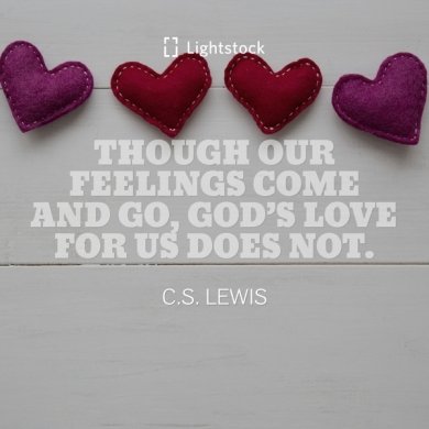 quote about love from C.S. Lewis