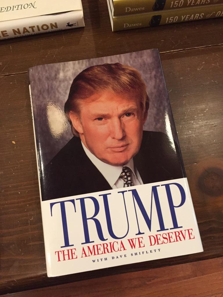 book- TRUMP-THE AMERICA WE DESERVE