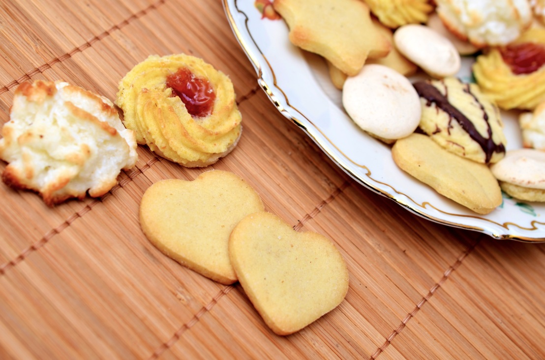 variety of party cookies on a plate