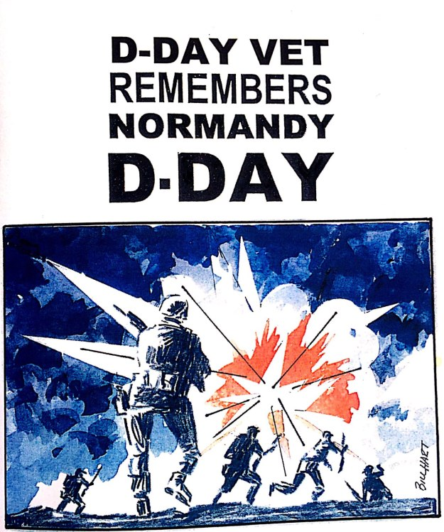 D-DAY VET REMEMBERS NORMANDY