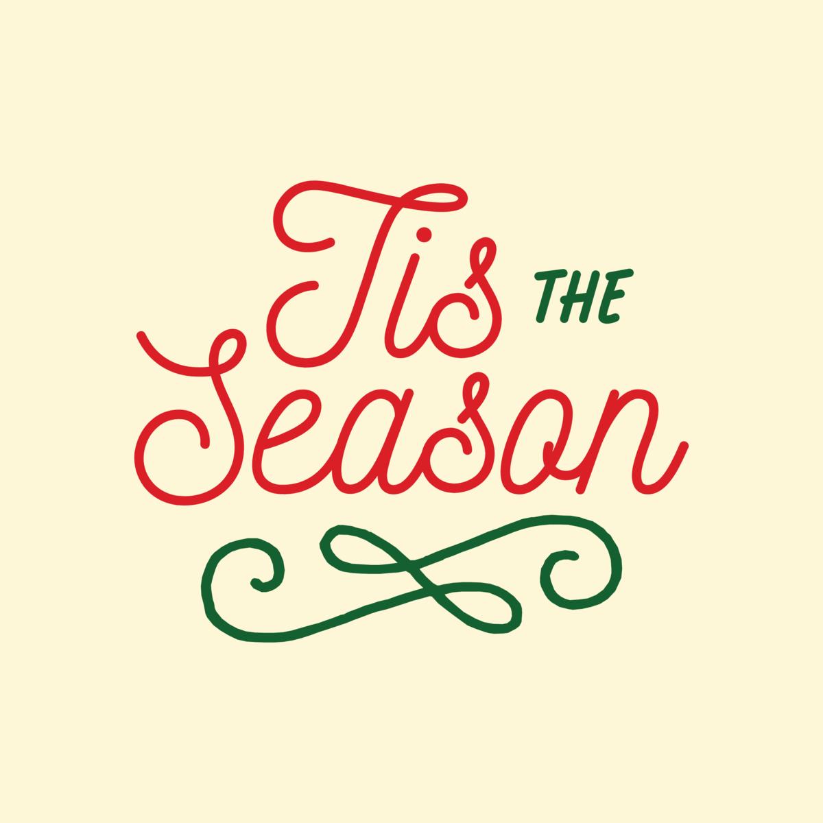 """Tis the season,again"
