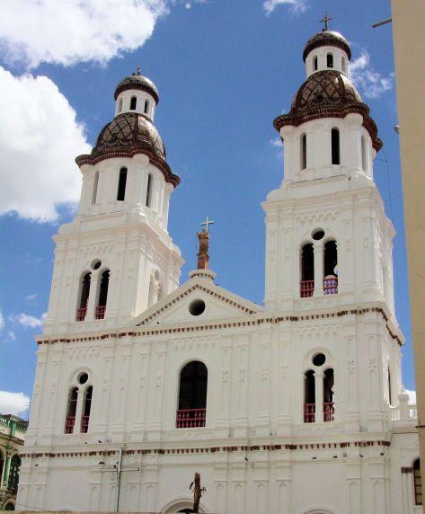 ornate white church