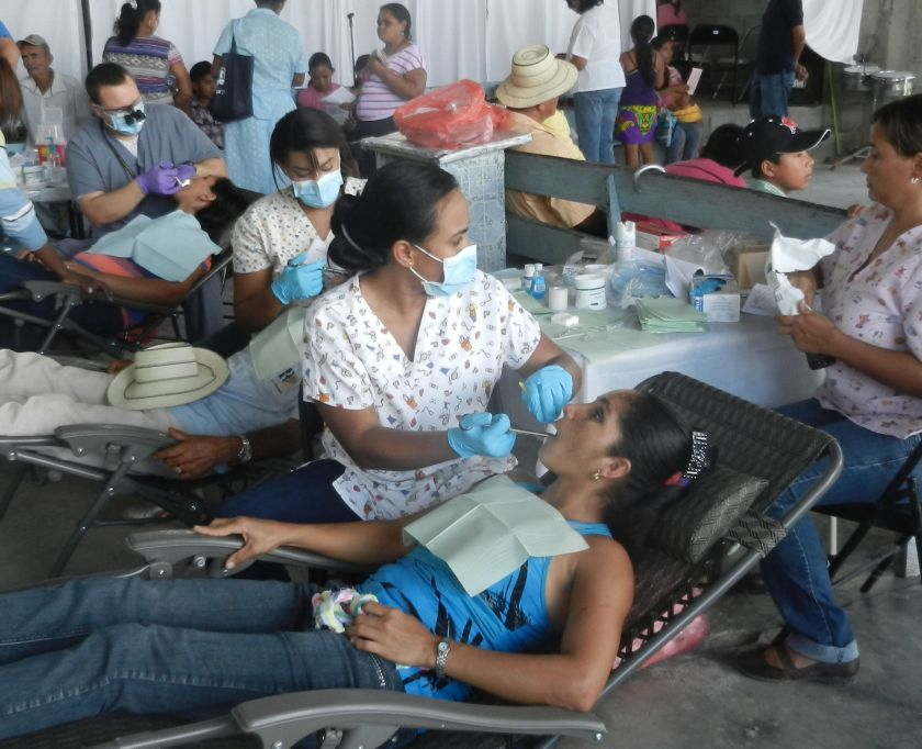 dental care at a rural clinic