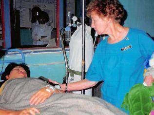 nurse, vietnam, patient
