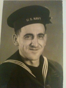 old photo of man in a sailor uniform