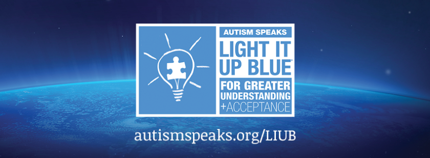 Light it up blue-autism speaks