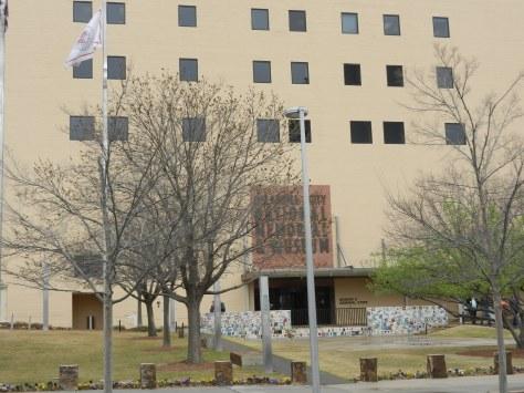 Oklahoma City National Memorial and Museum entrance