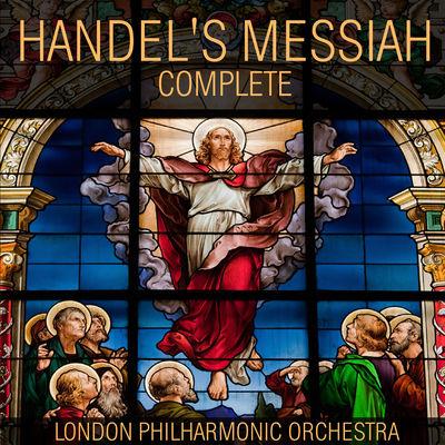 HANDEL'S MESSIAH COMPLETE-album cover