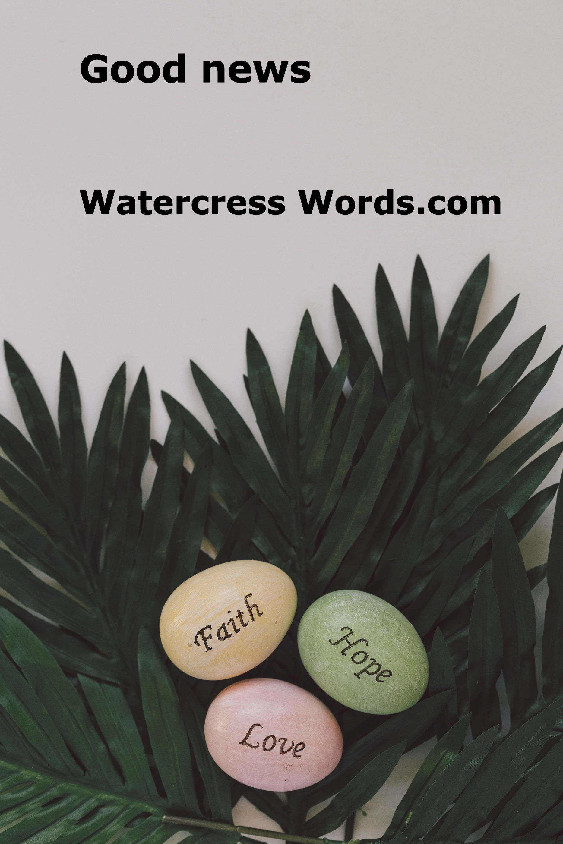 Good news Watercress Words.com
