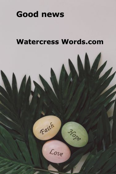 Good news Watercress Words.com