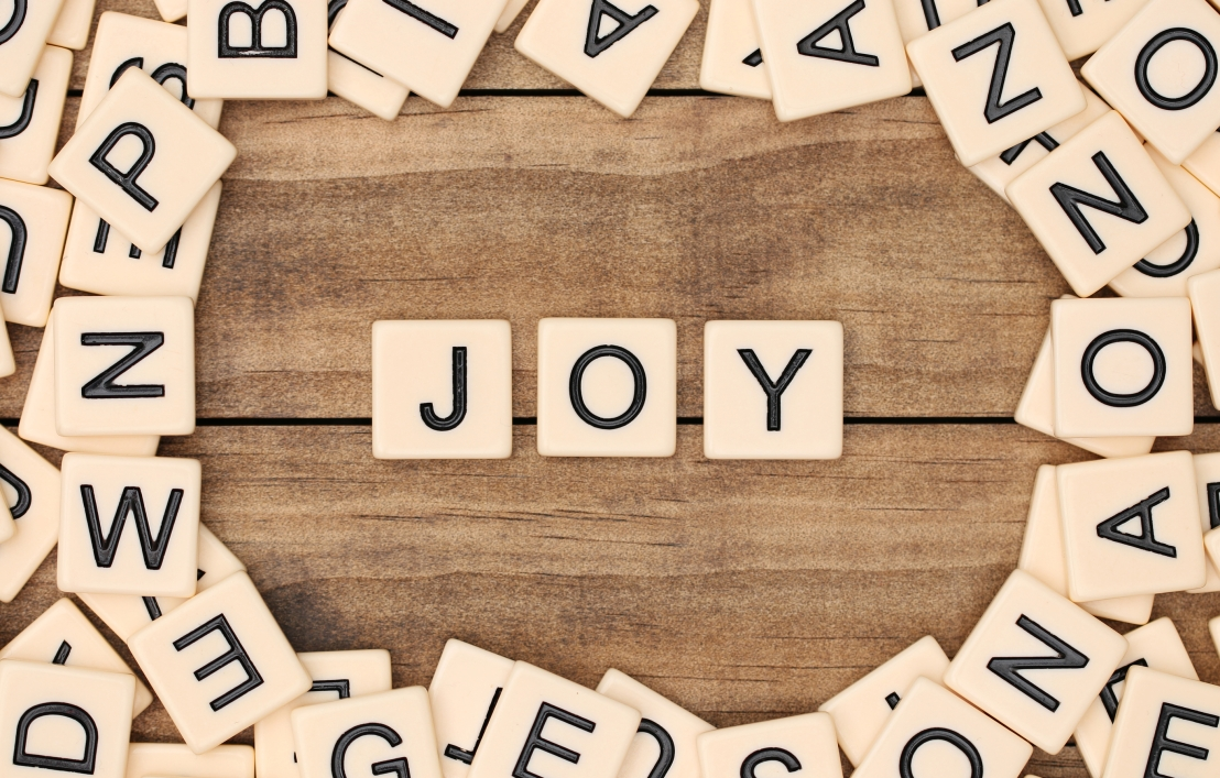 the power of joy- Weekend Words