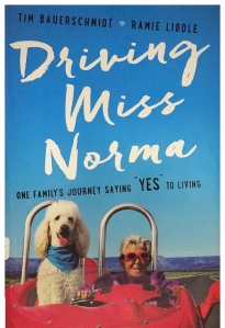 Driving Miss Norma - a book cover