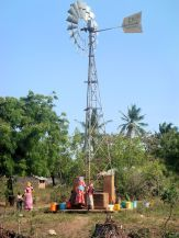 a well in a remote site