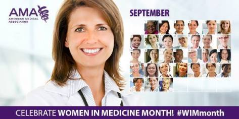 CELEBRATE WOMEN IN MEDICINE MONTH#WIMmonth