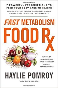 book cover- FAST METABOLISM FOOD RX BY HAYLIE POMROY