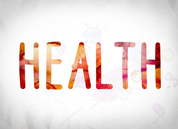 HEALTH in red capital letters
