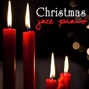 Christmas jazz piano album cover