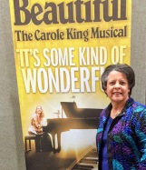 a poster for Beautiful-The Carole King Musical, and Dr Aletha