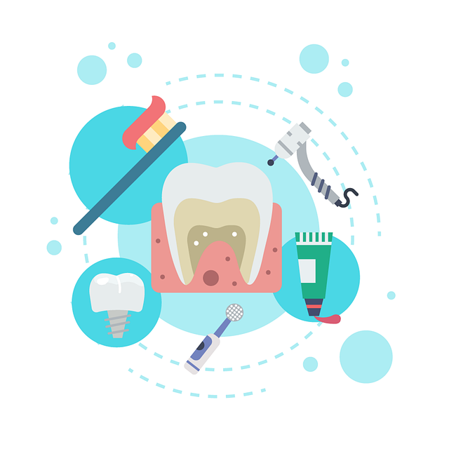 a graphic about teeth and dental care